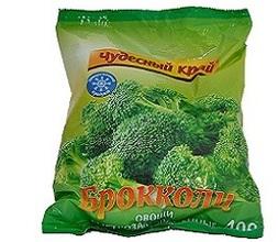 """Брокколи замороженная """"Чудесный край """" (0,4кг) 0,4кг"""
