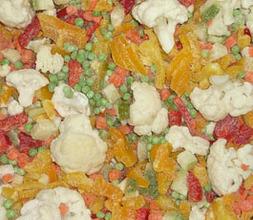 Весенние овощи замороженные(8*1кг)(8кг) 1кг