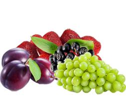 Компотная смесь №3(Слива с/к, клубника, рябина черноплодная, виноград)(10*1кг) (10кг) 1кг